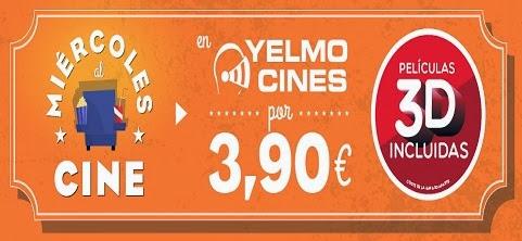 miércoles de cine en Yelmo