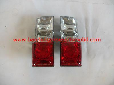 Lampu Stop Crystal / Merah Putih TAFT FEROZA