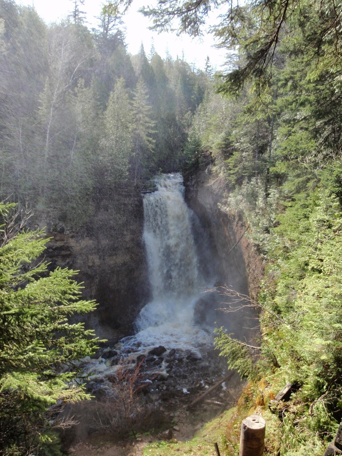 Miners Falls, Pictured Rocks National Lakeshore, Michigan Waterfalls