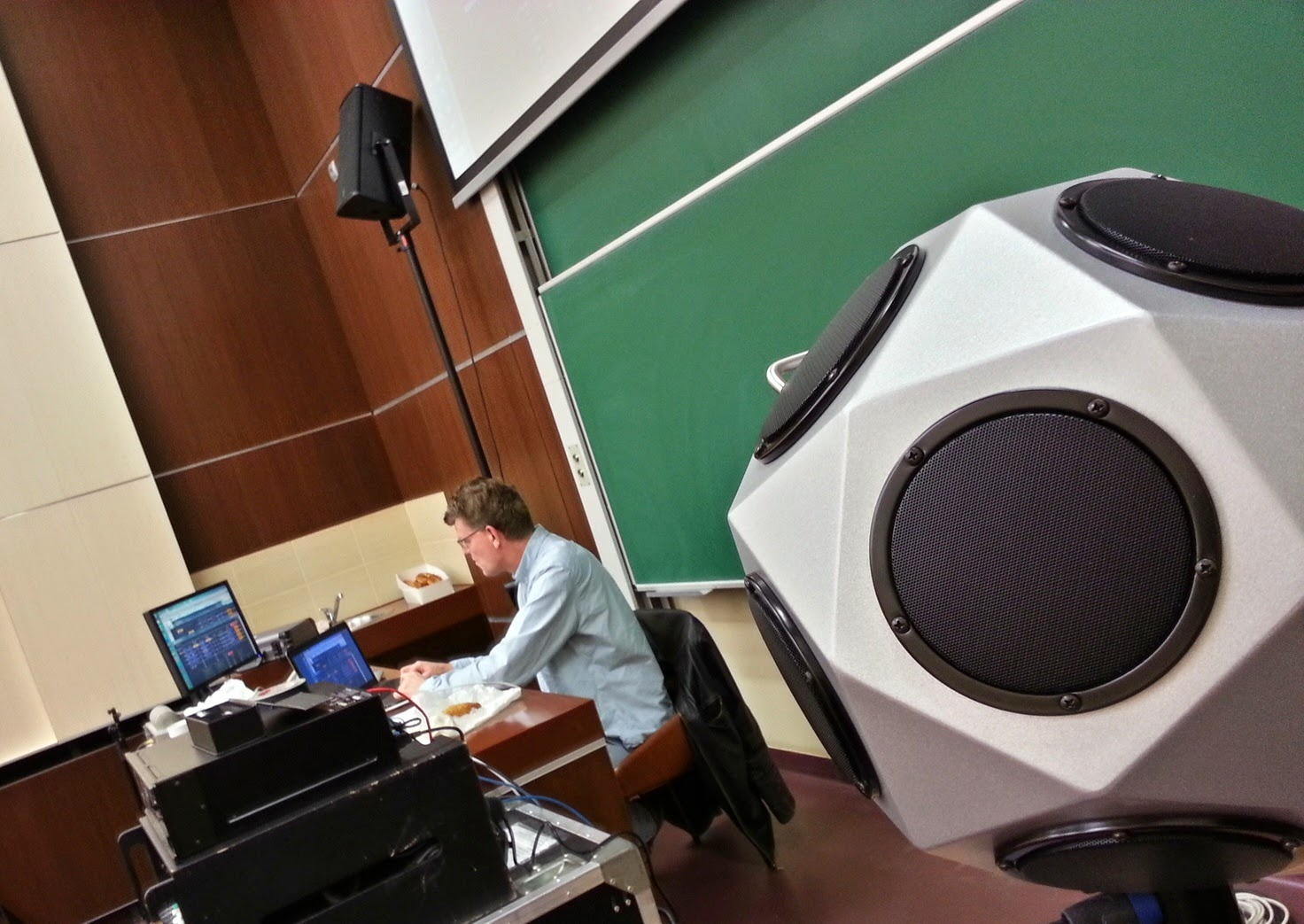 Konfiguracja systemu sztucznego pogłosu - Yamaha Ron Bakker