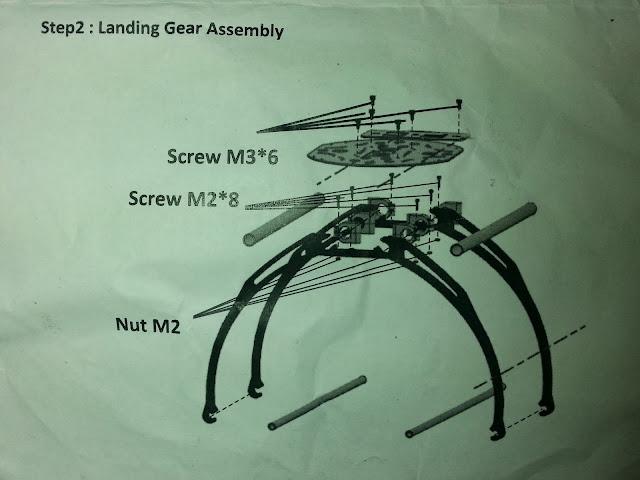 guia de montaje multicopter