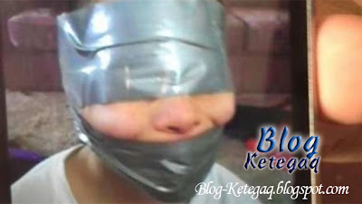 Ibu didakwa kerana membalut pita pelekat di kepala anak