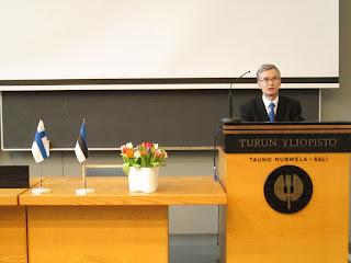 Eesti iseseisvuspäeva peokõne Turu ülikoolis