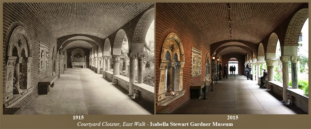 Travis Simpkins Then And Now Courtyard Cloister East