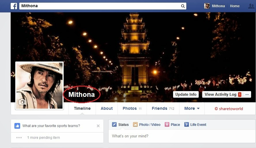 How to Hide the Last Name in Facebook