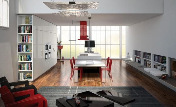 Enza mobilya beyaz mutfak modelleri for Mobilya cucine