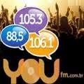 ouvir a Rádio You FM 105,3 Camanducaia MG