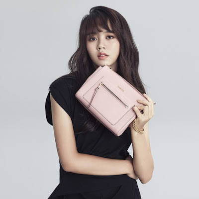 K-Fashion Inspiration: Still in Love with Mini Cross Bag by Kim So Hyun