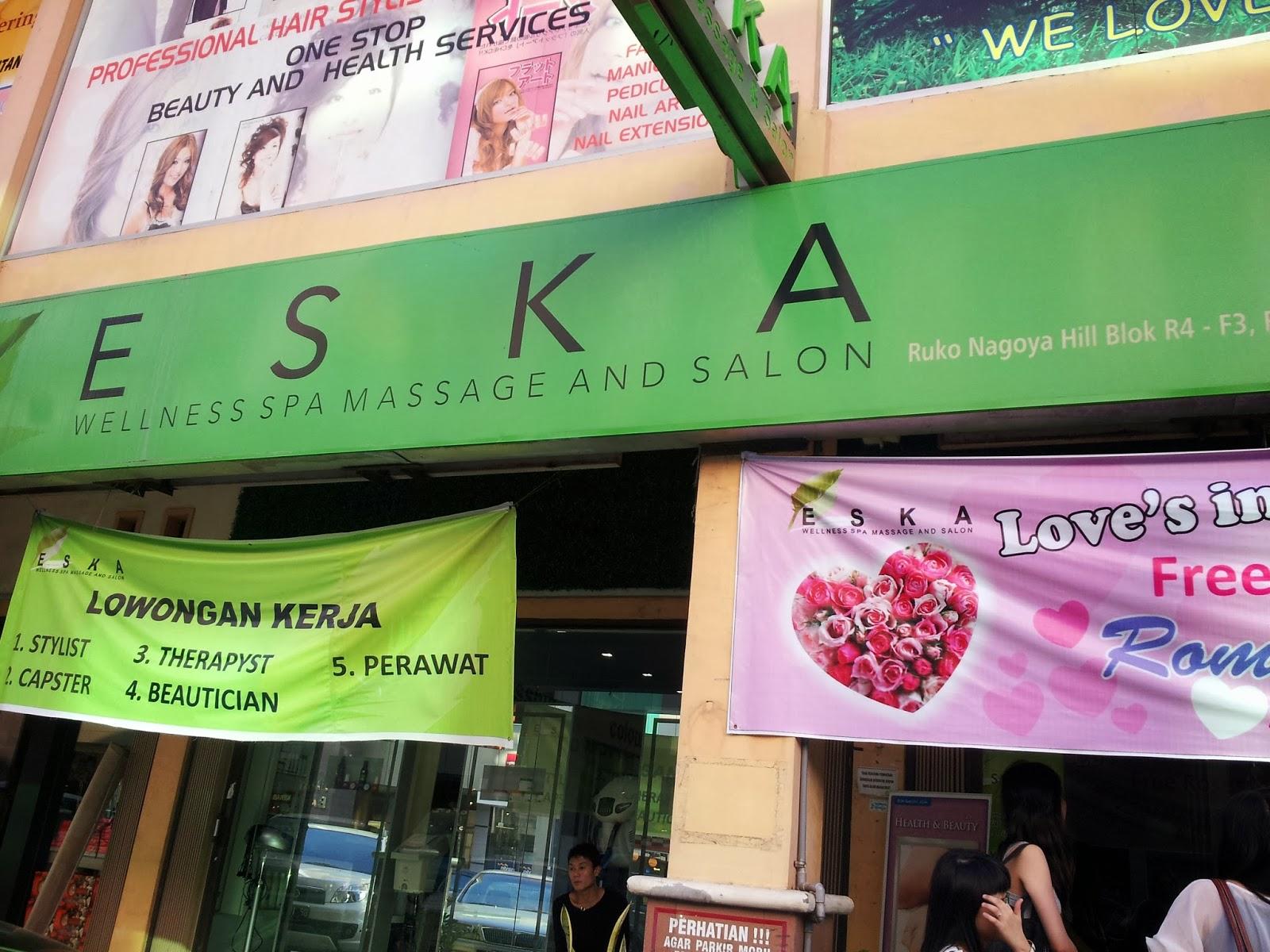 Eska Wellness Spa Massage And Salon Batam Amie Hu