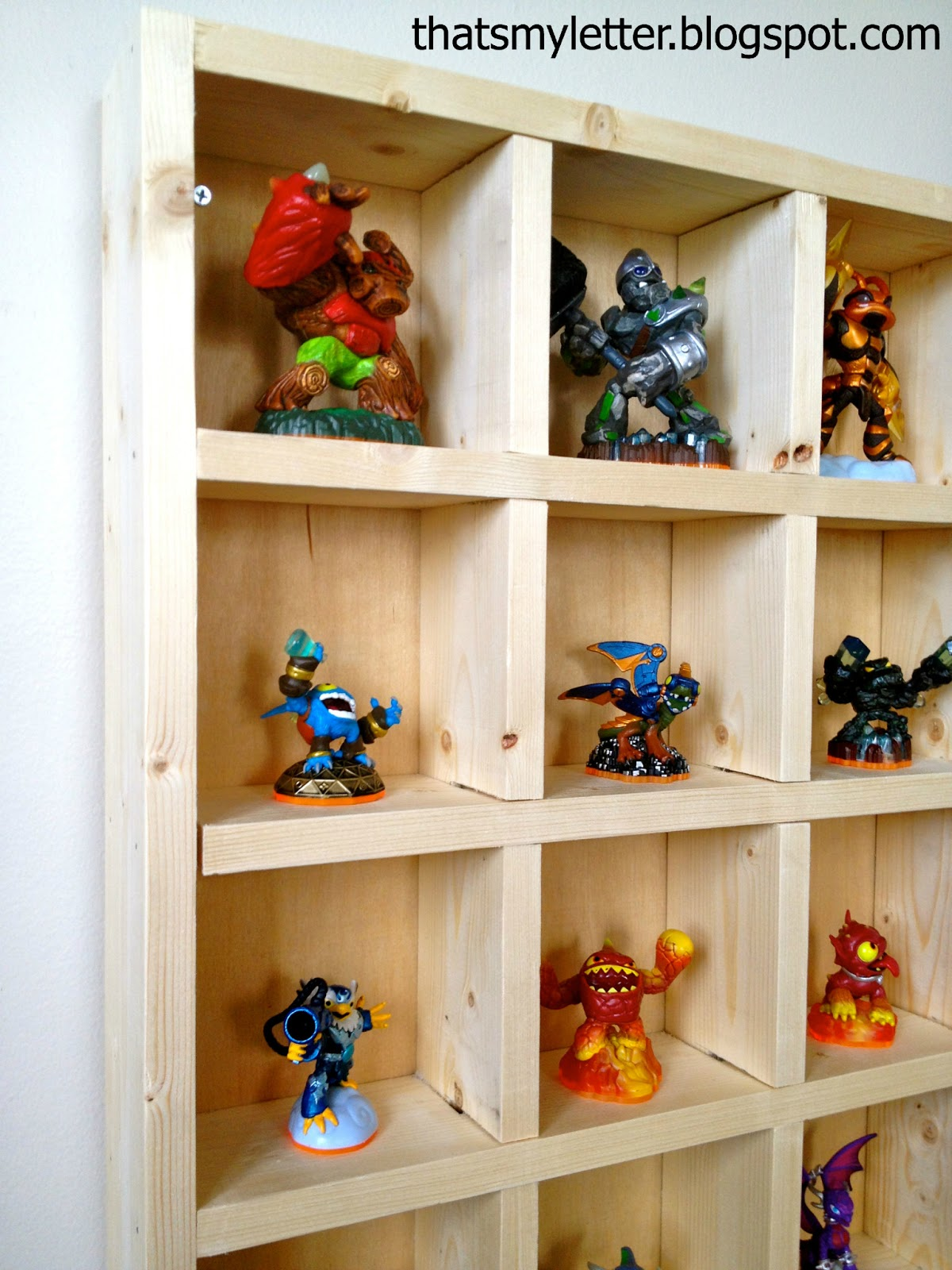 Each Skylander Has Itsu0027 Own Cubby Slot, The Giants Just Fit Into The 5u2033 X  5u2033 Space And Thereu0027s Even Enough Room To Double Up Once The Collection  Grows.