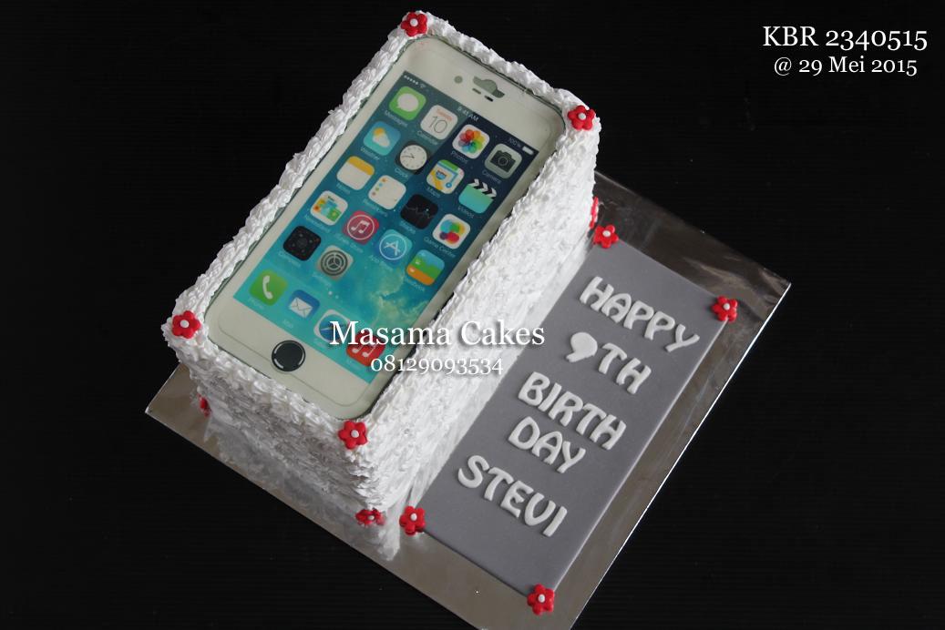 Masama Cakes Iphone6 Birthday Cake For Stevi