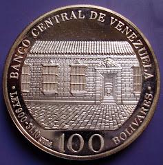 Moneda conmemorativa bicentenario del nacimiento del libertador Simón Bolivar