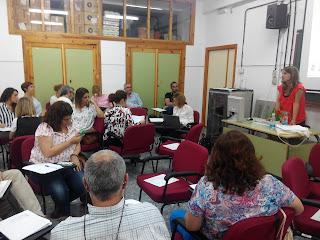 Mesa de trabajo I Jornadas Regionales CdA
