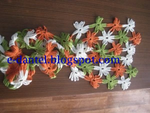 Çiçekli Fular