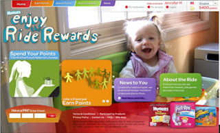 Free Huggies Enjoy The Ride Rewards Points