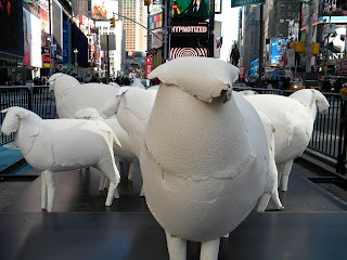 Counting Sheep in Times Square