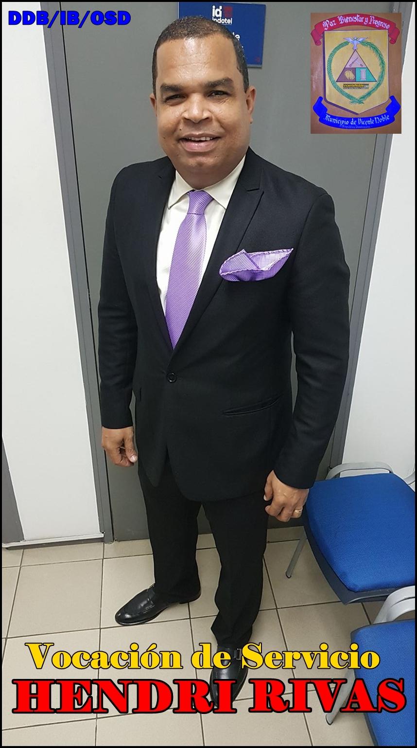 HENDRI RIVAS, DIRIGENTE DE VICENTE NOBLE CON ALTA VOCACION DE SERVICIO