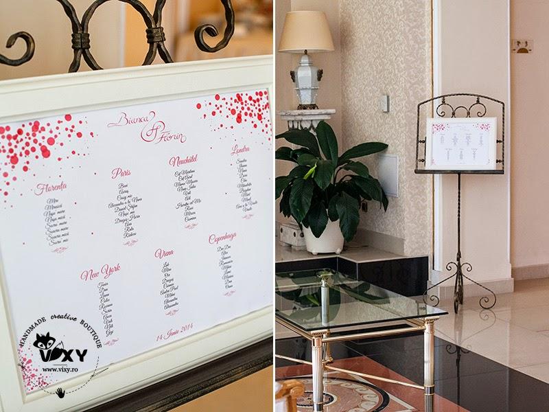 papetarie eveniment, papetarie personalizata, marturii nunta, place carduri nunta, design personalizat eveniment, numere masa deosebite