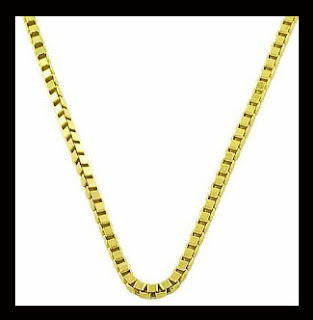 pure gold men's gold necklaces