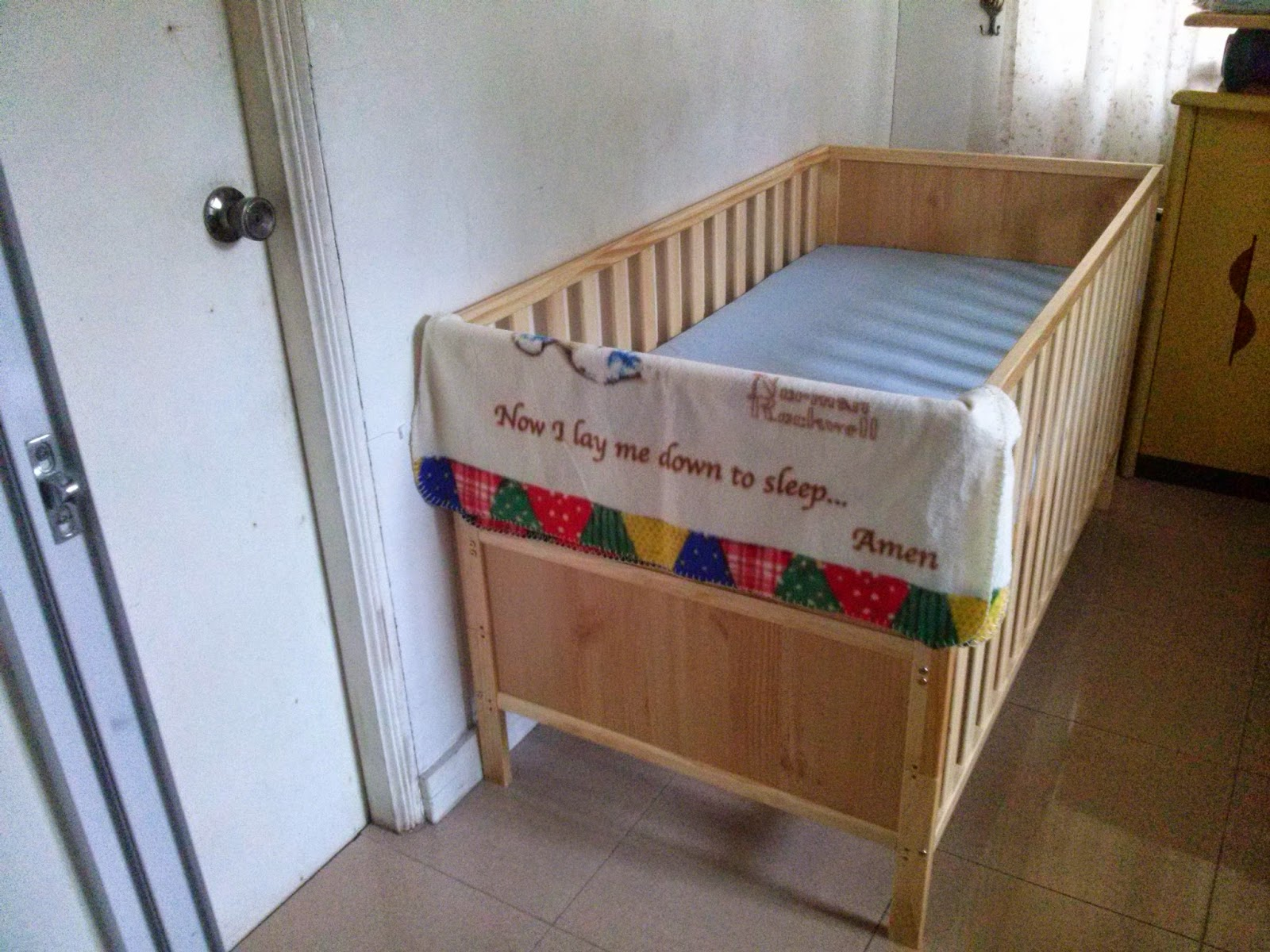Gocrib adventure crib for sale - Baby Wooden Crib For Sale In Quezon City It Took Around 20 Minutes For Husband