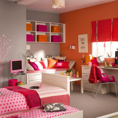 plus- Cool Teenage Girl Bedroom Designs - Teenage Craze - A Place for