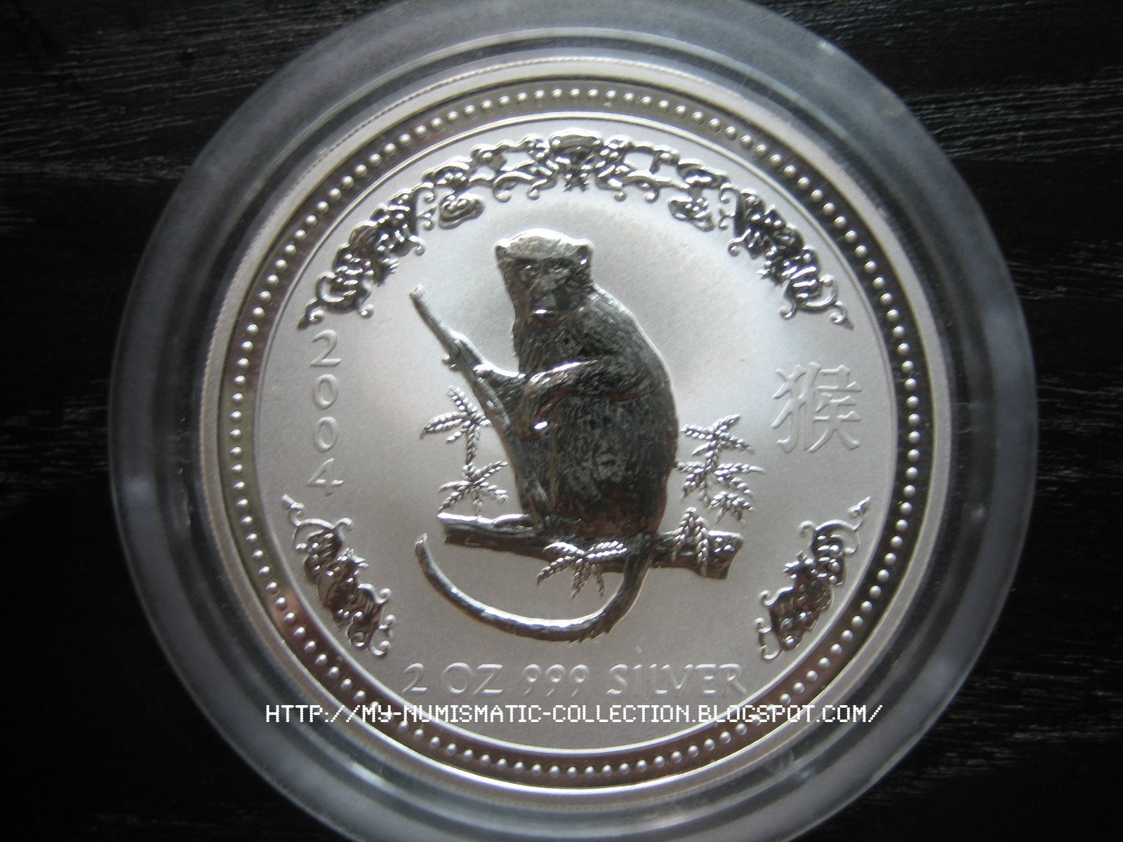 Numismatic Collection 2004 Year Of Monkey