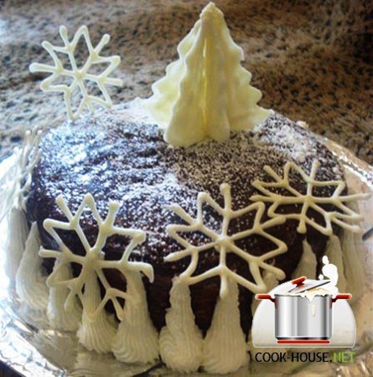 Торты на новый год своими руками рецепты
