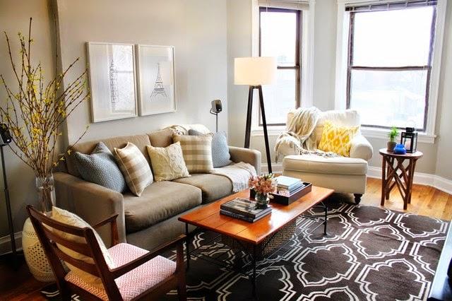 contoh desain kursi ruang keluarga terbaru