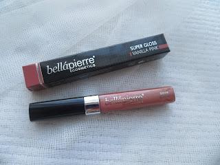 vanilla pink review lipgloss bellapierre