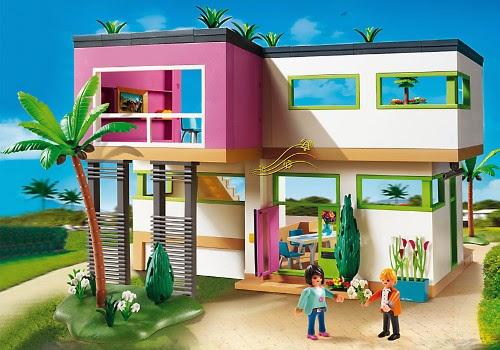 Juguetes Playmobil City Life 5574 Mansi N Moderna De