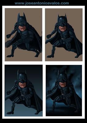 Batman caricatura toñito avalos