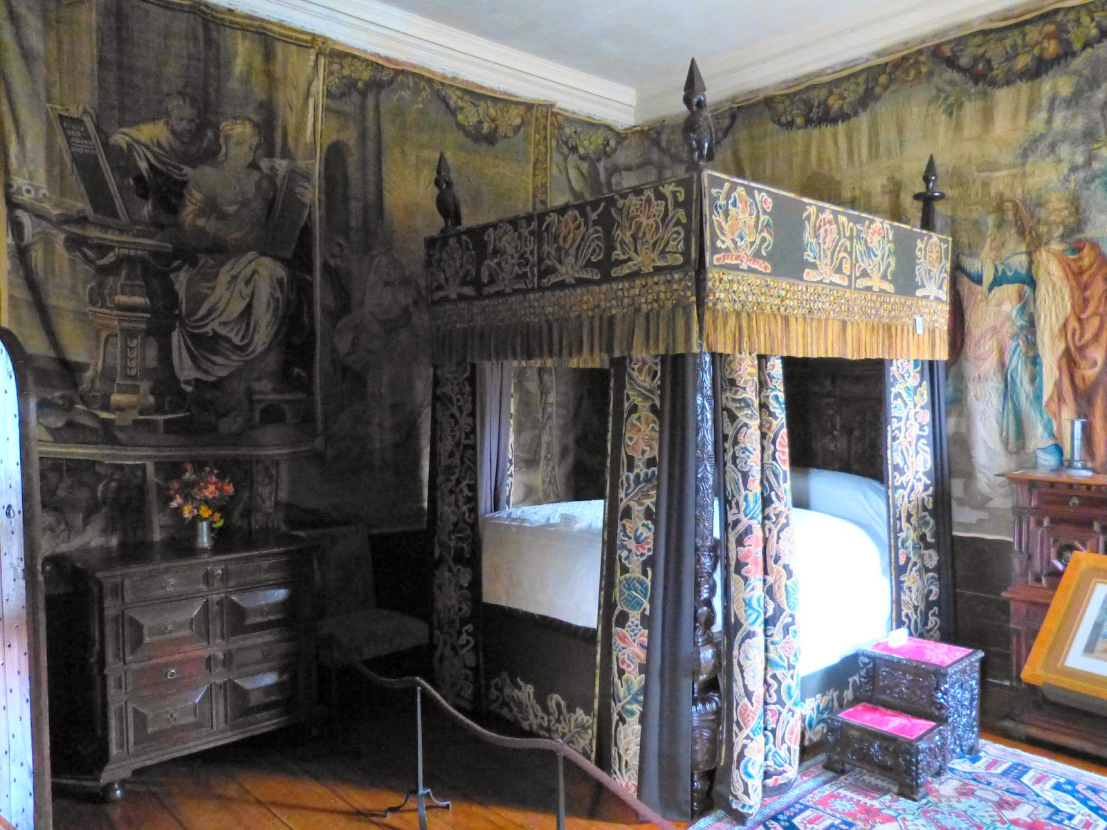 King Charles' Room, Cotehele