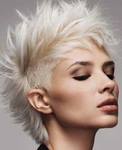 Gorgeous Mohawk Hairstyle 2014