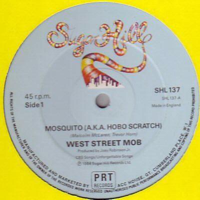 West Street Mob – Mosquito / Break Dance – Electric Boogie (1984, VLS, 256)