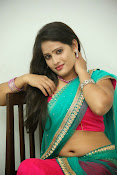Anusha half saree photos gallery-thumbnail-9