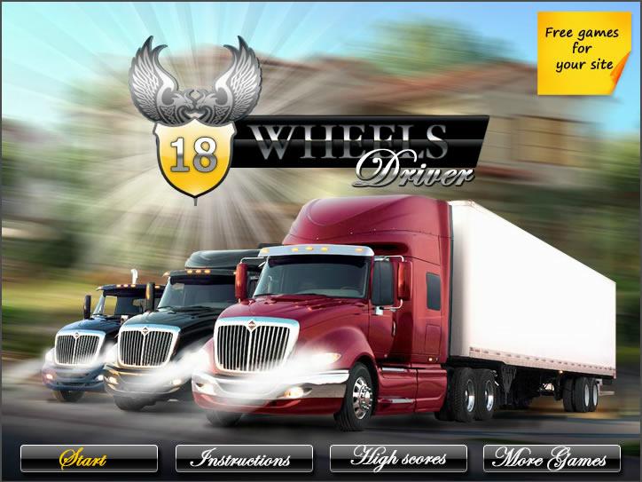 Truck Game : 18 Wheels Driver