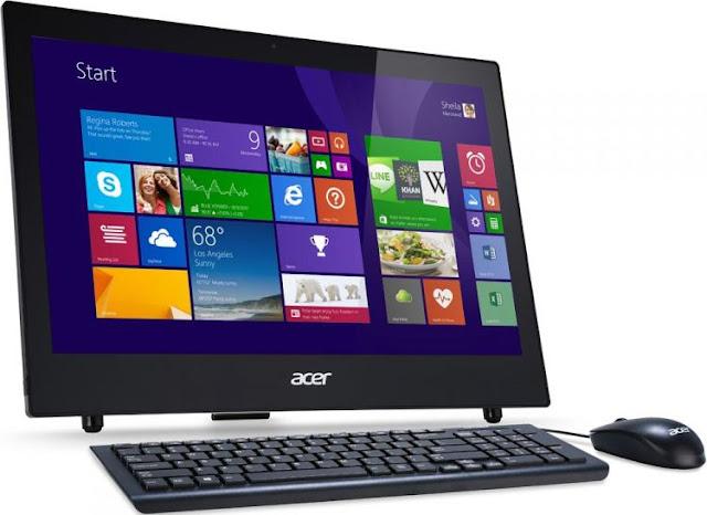 Передняя сторона моноблока Acer Aspire Z1-601