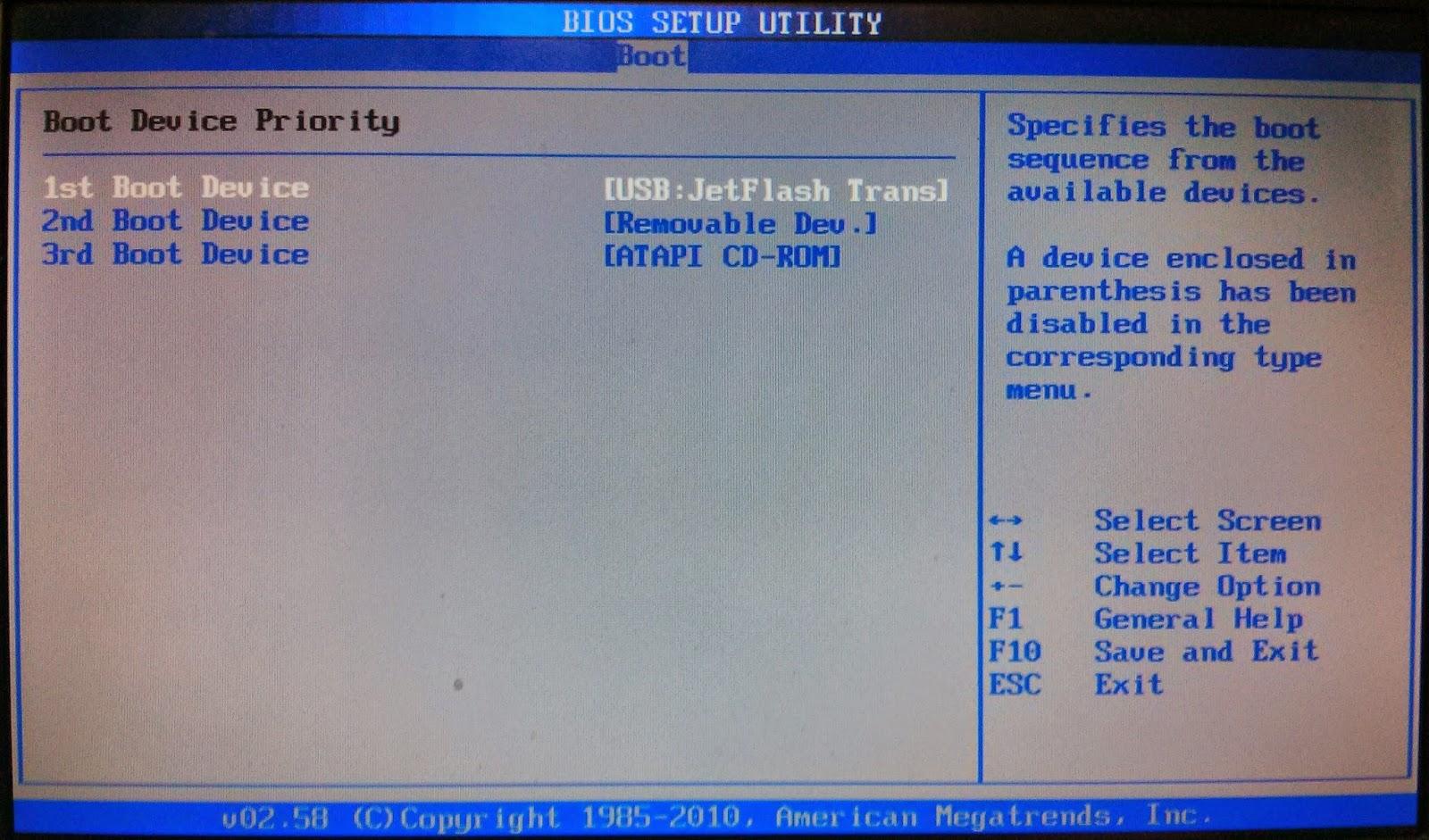 Windows 10 - Как загрузить систему с USB носителя/CD. - Asus 77