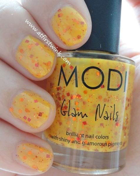 Modi Glam Nails 73 - Pumpkin Jelly