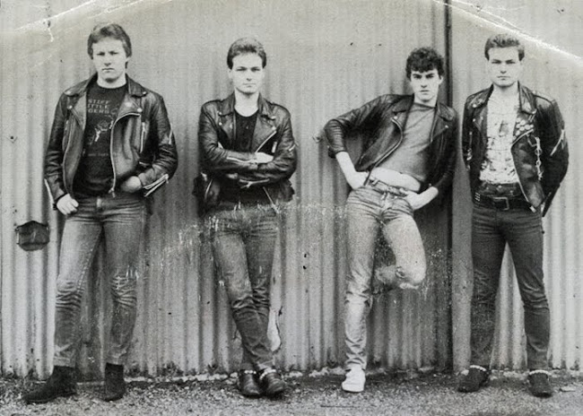 State of emergency - Men of action - 1983 Peterlee Musicians collective  punk