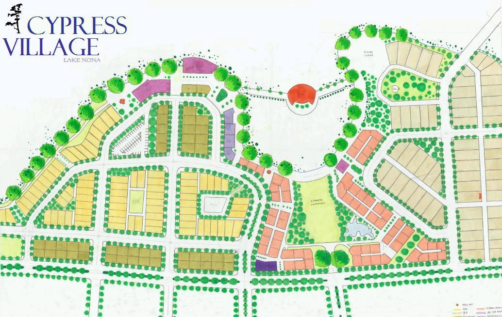 Community Design Portfolio: Cypress Village at Lake Nona  Master Plan