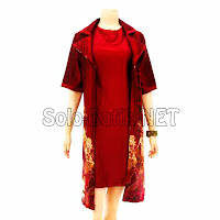 DB 3092 Model Baju Dress Batik Modern Terbaru 2013