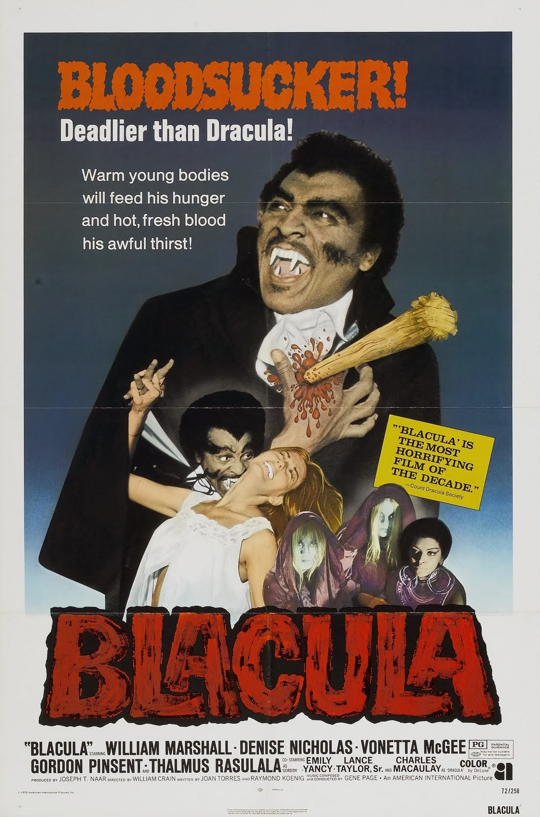 Blacula - Filmposter
