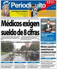PRIMERA PAGINA DE EL PERIODIQUITO DE MARACAY
