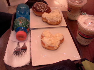 Krispy-kreme-donuts-and-cold-coffee