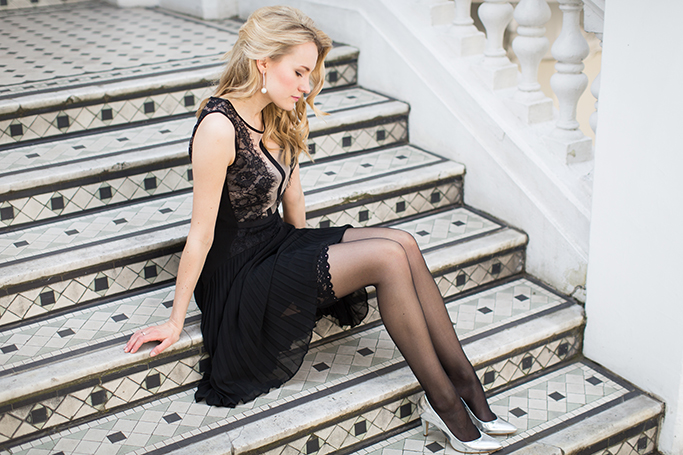 Wolford Swarovski Crystal Stay-up