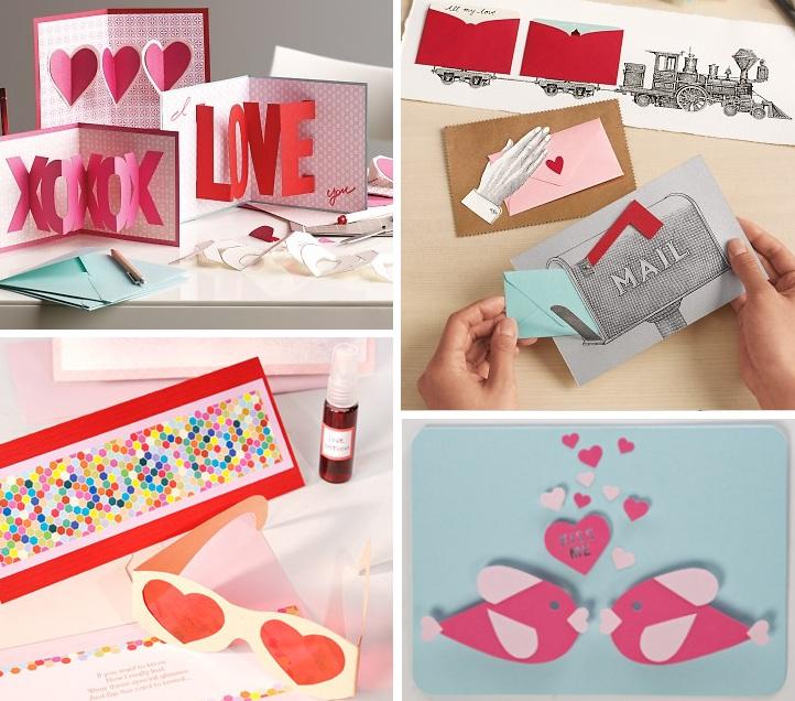 Cute and beautiful diy diy tarjetas super originales for Cute valentines day card ideas