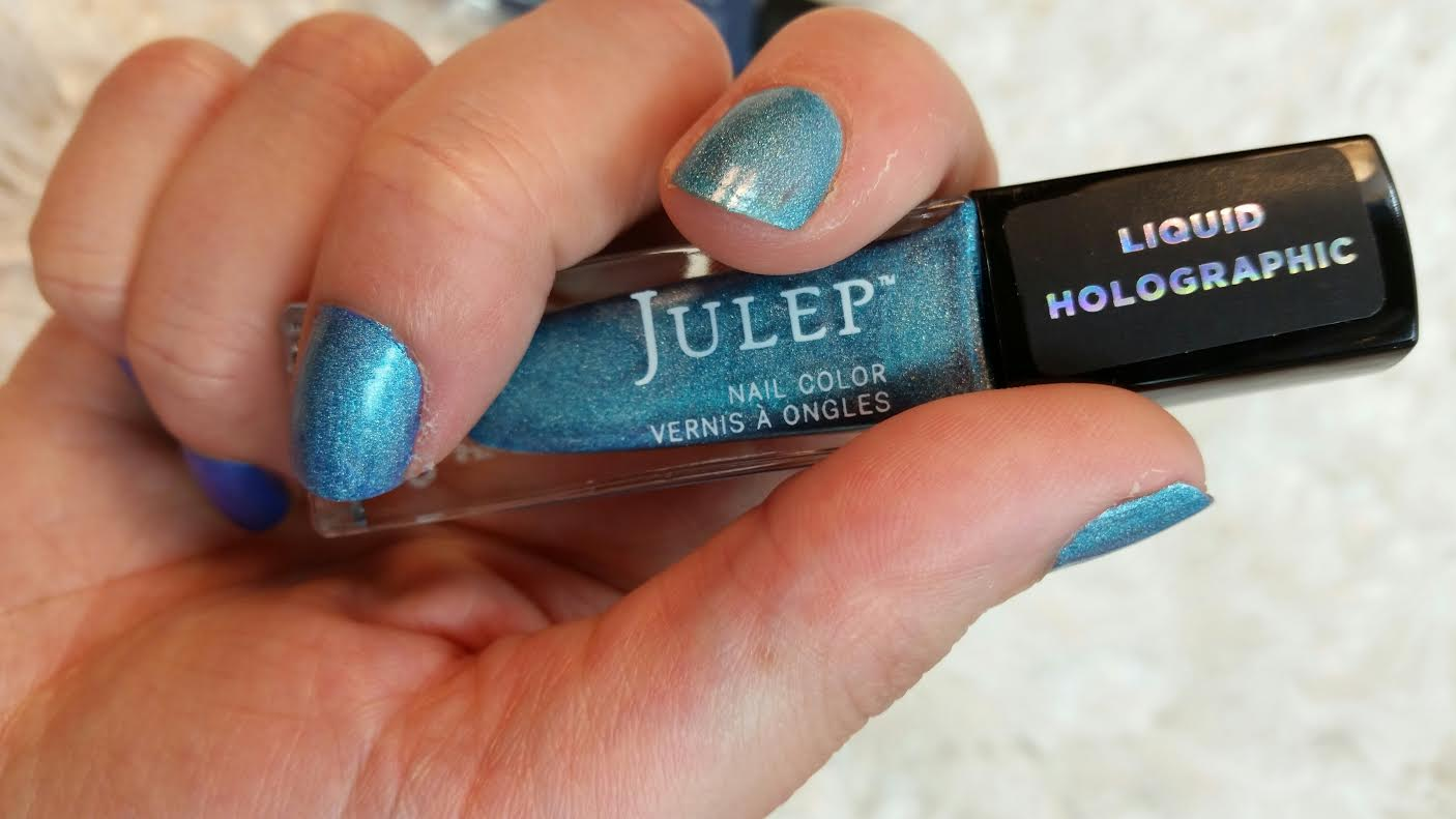 Julep July 2015 Mystery Box Review Holo-Day and Holo-Night Plus ...