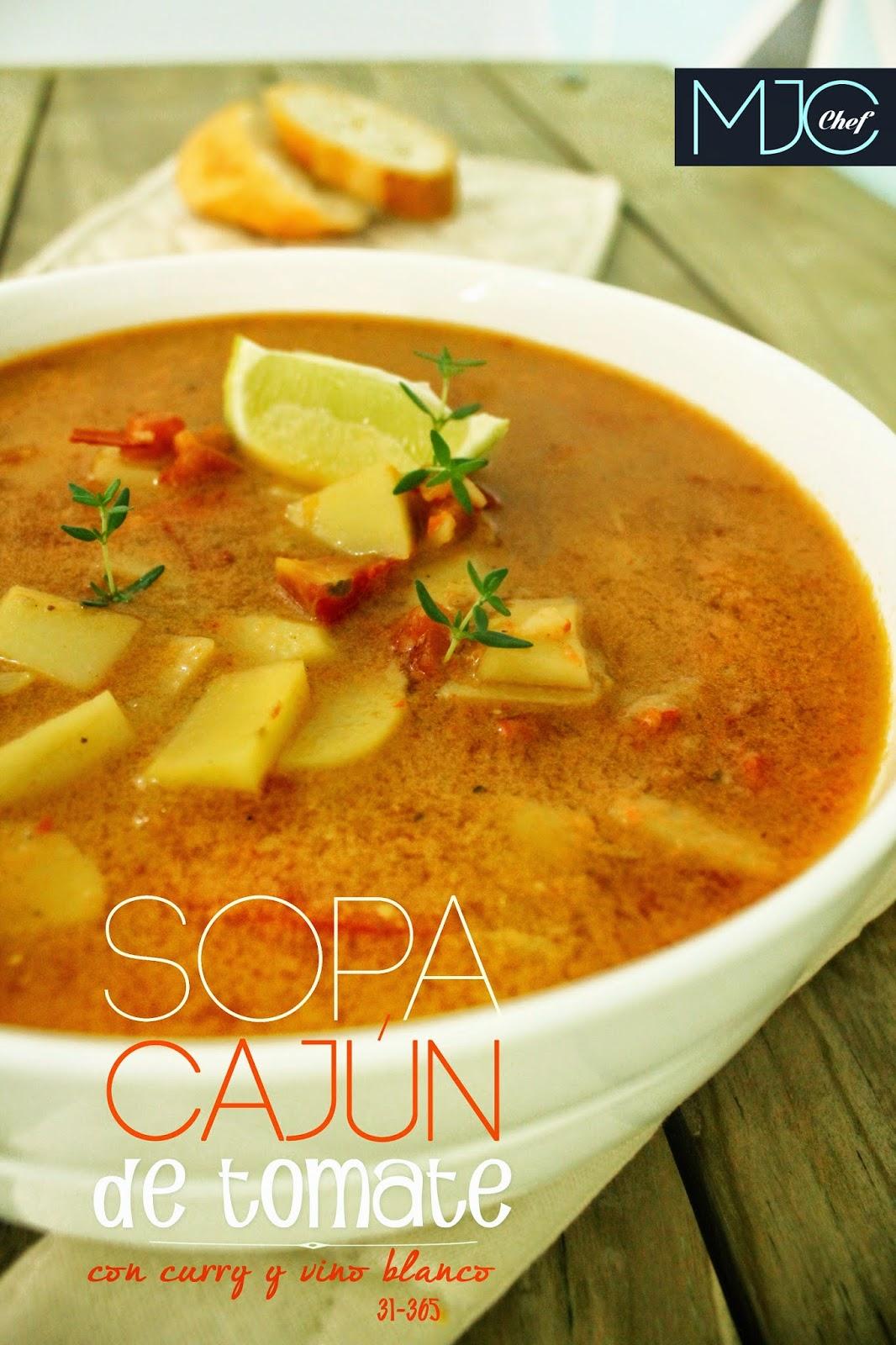 Sopa Cajún