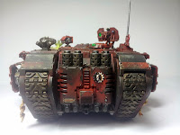 LAND RAIDER BLOOD ANGELS - WARHAMMER 40000 5